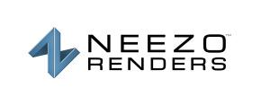 Neezo_Renders_Logo_Black_Blue_Vertical_10k